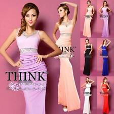 New Long Formal Lady Evening Bodycon Bridesmaid Cocktail Party Ball Gown Dresses