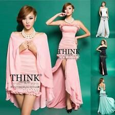2014 Short Evening Gown Bridesmaid Long Cocktail Party Ball Gown Classic Dresses