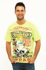 NEW Ed Hardy by Christian Audigier Rhinestone Hollywood dream basic tee panther