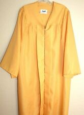 Gold Yellow Matte Graduation Gown Choir Clergy Robe or Costume Jostens Quality