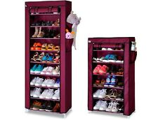New Portable Folding Shoes Hanger Storage Shoe Cabinet Tower Rack Organizers Hot