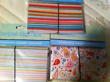 Coupon Organizer 12 Pockets-Expandable, Elastic Closure New