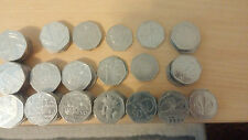 VARIOUS COMMEMORATIVE BRITISH FIFTY PENCE 50p COINS - BRITAIN ENGLAND