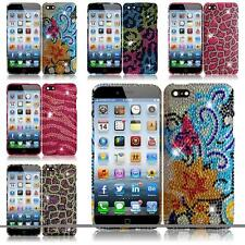 For Apple Iphone 6 4.7 INCH Diamond Rhinestone Bling Cover Case + Screen Guard