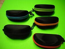 New Light Weight Resist Crush Shock Scratch Zip Cycleing Glasses hard Case Box