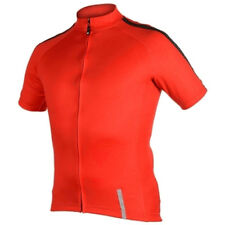 NETTI REFINED FULL ZIP SS BIKE JERSEY RED 2014