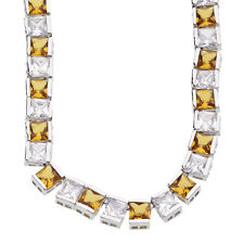 ICED OUT BLING Chain - 6mm Yellow Zirconia