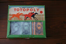 choose SPARE replacement PARTS vintage TOTOPOLY BOARD GAME by WADDINGTON