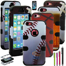 Football Basketball Baseball beer pattern Hard Case Cover For iPhone 5c +Gifts
