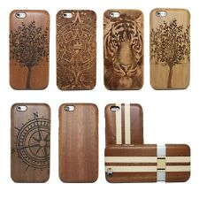 Real Natural Bamboo Wood Wooden Hard Case Cover Shell for iPhone 6 4.7 inch +Pen