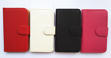 Luxury Flip PU Leather Card slots Wallet Case Cover Pouch for SONY cell Phones