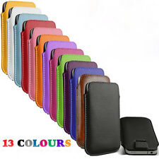 13 colour bulk Leather Pouch Case Bag for lenovo  a369 a369i a750 Cover