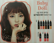 [Etude House] Play 101 Pencil Baby Doll (8ea) + Samples~