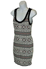 Ronny Kobo Women's Sammy Stretch Knit Dress, Tribal Jacquard, Medium
