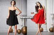 Formal Wedding Bridesmaid Prom Gown Ball Evening Party Cocktail Short Mini Dress