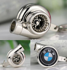 Hot Creative Atuo Logo Spinning Turbo Turbine Keychain Key Chain Ring Keyring .