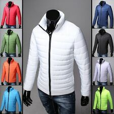 ST2507  Stylish Men's WARM  Casual Slim Fit winter Coat Jackets Thin and light