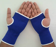 Elasticate Wrist Palm Support Glove Arthritis Tendinitis Pain Brace Support Blue