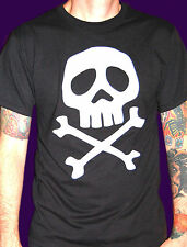 Space Pirate CAPTAIN HARLOCK anime punk skull crossbones MISFITS DANZIG T-shirt