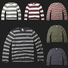 New HOLLISTER By Abercrombie Men Arch Bay Long Sleeve T Shirt  Tee Size S M L XL