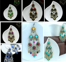 Women charm Earrings Bohemia retro Chandelier Dangle Earrings tassels earrings