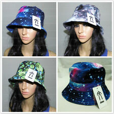 Unisex Men's Summer Bucket Hat Galaxy Boonie Caps Hunting Fishing Sun Hats