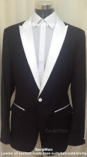 CUSTOM MADE TO MEASURE MEN SUITS,BESPOKE GROOM TUXEDOS WEDDING,ANY STYLE & COLOR