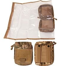 MILITARY MAP CASE WATERPROOF COVER MTP POUCH HOLDER BRITISH ARMY OFFICER FOLDER