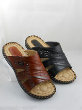 Mens Shoes Casual Moccasins Sleepers Black Brown Comfortable Light Weight New