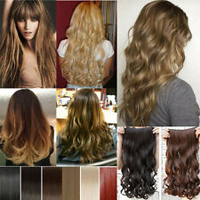 long straight full head 8 piece clip in hair extensions women gorgeous style M1