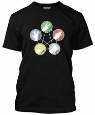 Rock Paper Scissors Lizard Spock - Big Bang Geek Men's T-shirt - Various Colours