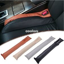 Leather Car Auto New Leakproof Seat Pad Gap Filler Holster Spacer Filler Padding