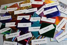 Mylar Backed Metallic Craft Foils for Polymer Clay - TWICE the amount of others
