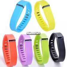 Large Replacement Wrist Band w/ Clasp for Fitbit Flex Bracelet No Tracker ONMF
