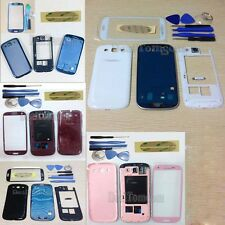 Full Housing Case Back cover + Screen Glass For Samsung Galaxy S3 I747 T999 ATT