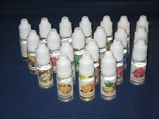 1x E liquid Vaporizer Juice 10ml Bottle Oil 21 Flavors to choose from Fruit