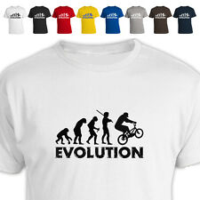 Evolution Of Bmx Rider Funny T Shirt All Size/Colour