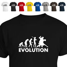 Evolution Of Salsa Dancer Funny T Shirt All Size/Colour