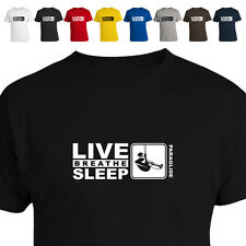 Paraglidier Gift T Shirt Eat Live Breathe Sleep  Paraglide 011