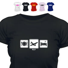 Pilot Light Aircraft Gift T Shirt Fly Daily Cycle