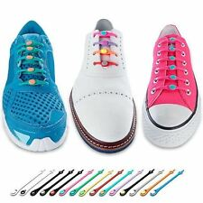 Hickies Elastic Lacing System 14 Colors To Choose Replace Shoe Laces