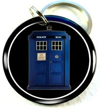 Dr. Who Tardis blue police box tv movie Pet id tags dog tag cat pet tags