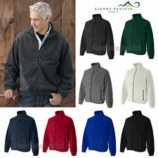 Sierra Pacific Mens Full-Zip Fleece Jacket Pill Resistant S-5XL 3061