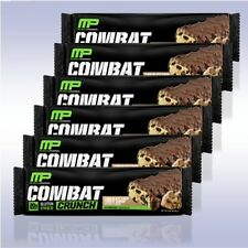 MUSCLEPHARM COMBAT CRUNCH BARS (6-PACK) gluten free protein low sugar powder mp