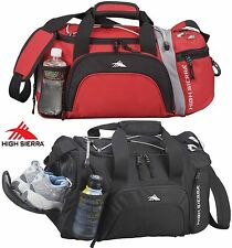 """High Sierra 22"""" Switch Blade Duffel Bag Red or Black with Lifetime Warranty -New"""