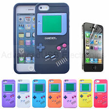 Gameboy Game Boy Silicone Case Cover for Apple IPHONE5 5S +Free Screen Protector