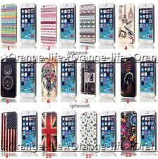 For iPhone 6 4.7'' Various Retro Painted TPU Case Slim Silicone Skin Soft Cover