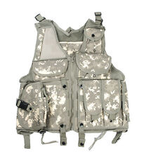 TACTICAL AIRSOFT PAINTBALL HUNTING COMBAT VEST LIGHTWEIGHT WITH HOLSTER POUCH
