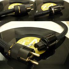 0.5M~3M Hi-End Hi-Fi FURUKAWA Audio Power Cable Cord Schuko EU IEC Plug