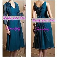 Evening Prom Formal Bridal Gown Mother of the Bride Dress Size 0-2-4-6-8-10-20++